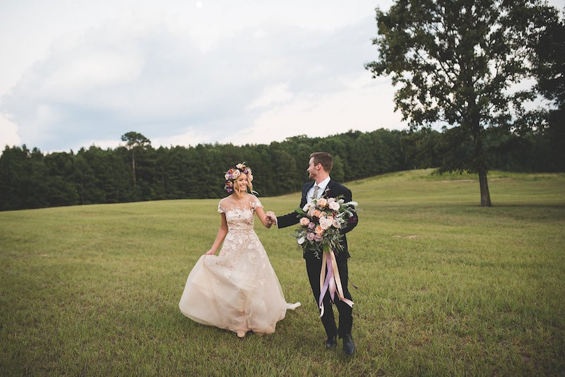 lavender and honey styled shoot