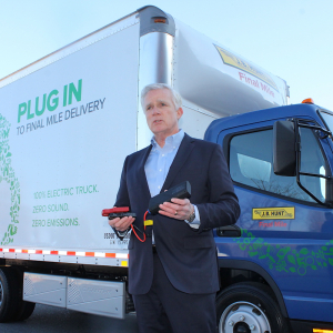 J.B. Hunt Adds 5 Electric Trucks to Final Mile Division