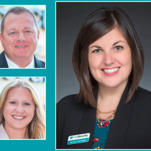 First Security Adds Three in Russellville (Movers & Shakers)