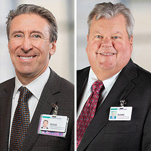 Doug Weeks, Duane Erwin Take New Roles at Baptist Health