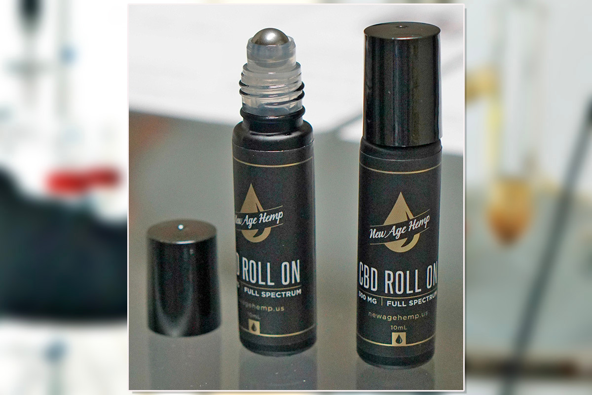 New Age Hemp's CBD products, which the company will sell wholesale to retail outlets, will come in a variety of packaging, including roll-on bottles for topical use and dropper bottles for oral doses.