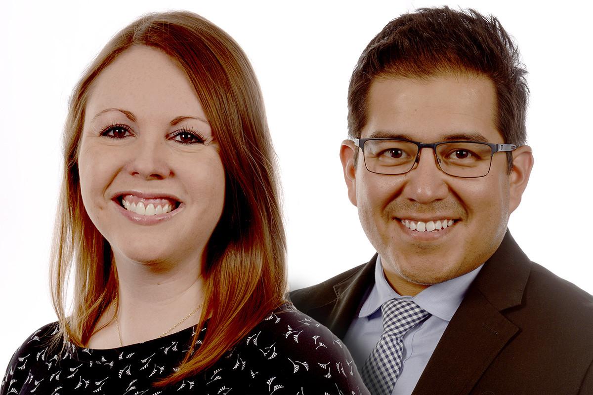 Tara Peña and Zach Peña of the University of Arkansas for Medical Sciences