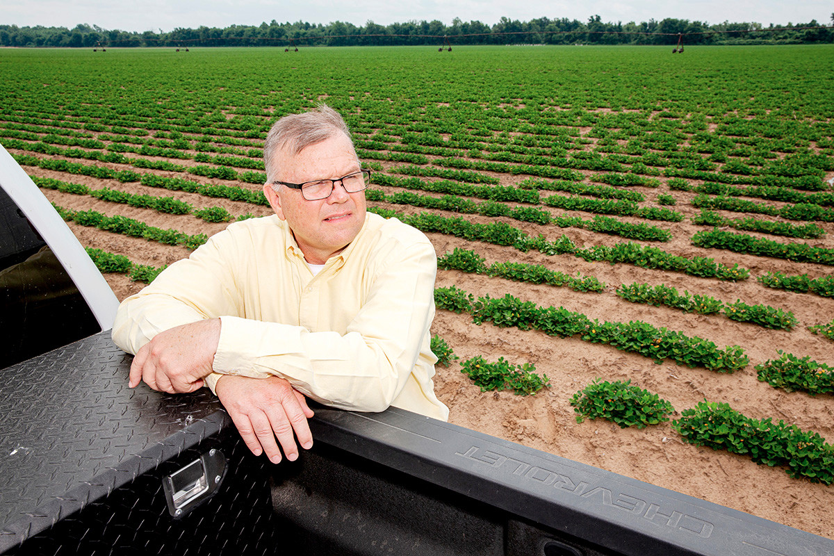 Delta Peanut CEO Tommy Jumper and other peanut farmers are anxiously awaiting Arkansas' first peanut shelling facility, which is on tap for Jonesboro.