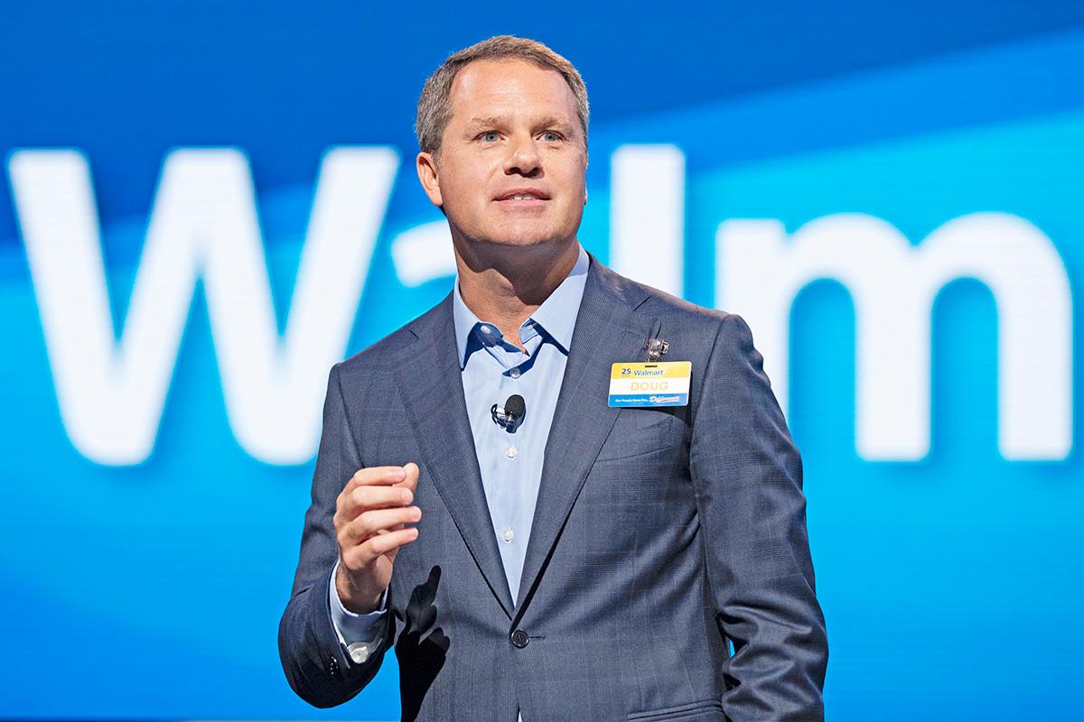 Walmart CEO Doug McMillon Leads List of Public Companies Executive