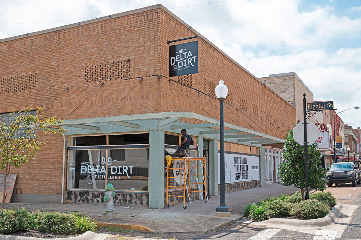 Delta Dirt Distillery is setting up shop at 430 Cherry St. in downtown Helena-West Helena. Tours and a tasting room with a full-service bar are on tap.