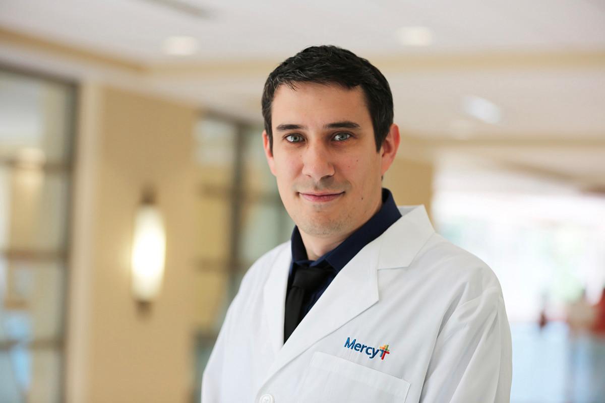 Dr. David Benson of Mercy Clinic Pain Management in Bentonville.