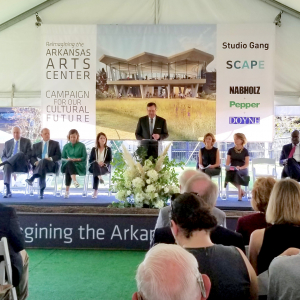 Charting the Future, Arts Center Breaks Ground on Expansion