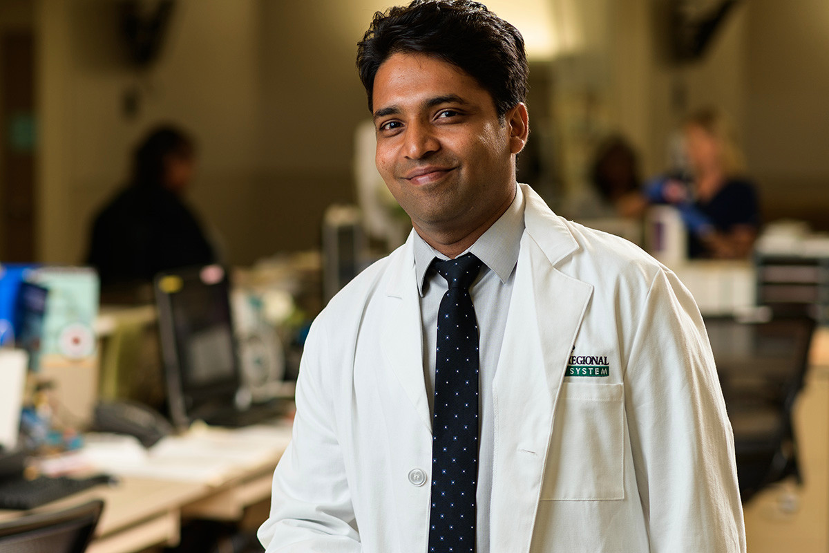Dr. Alok Surana of Conway Regional Health System.