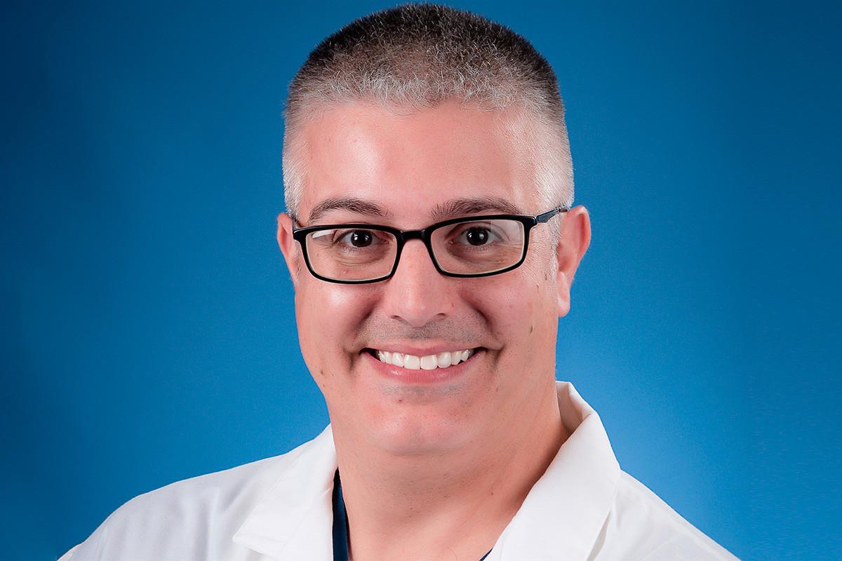 Dr. Christopher Baranyk of the North Arkansas Regional Medical Center in Eureka Springs.