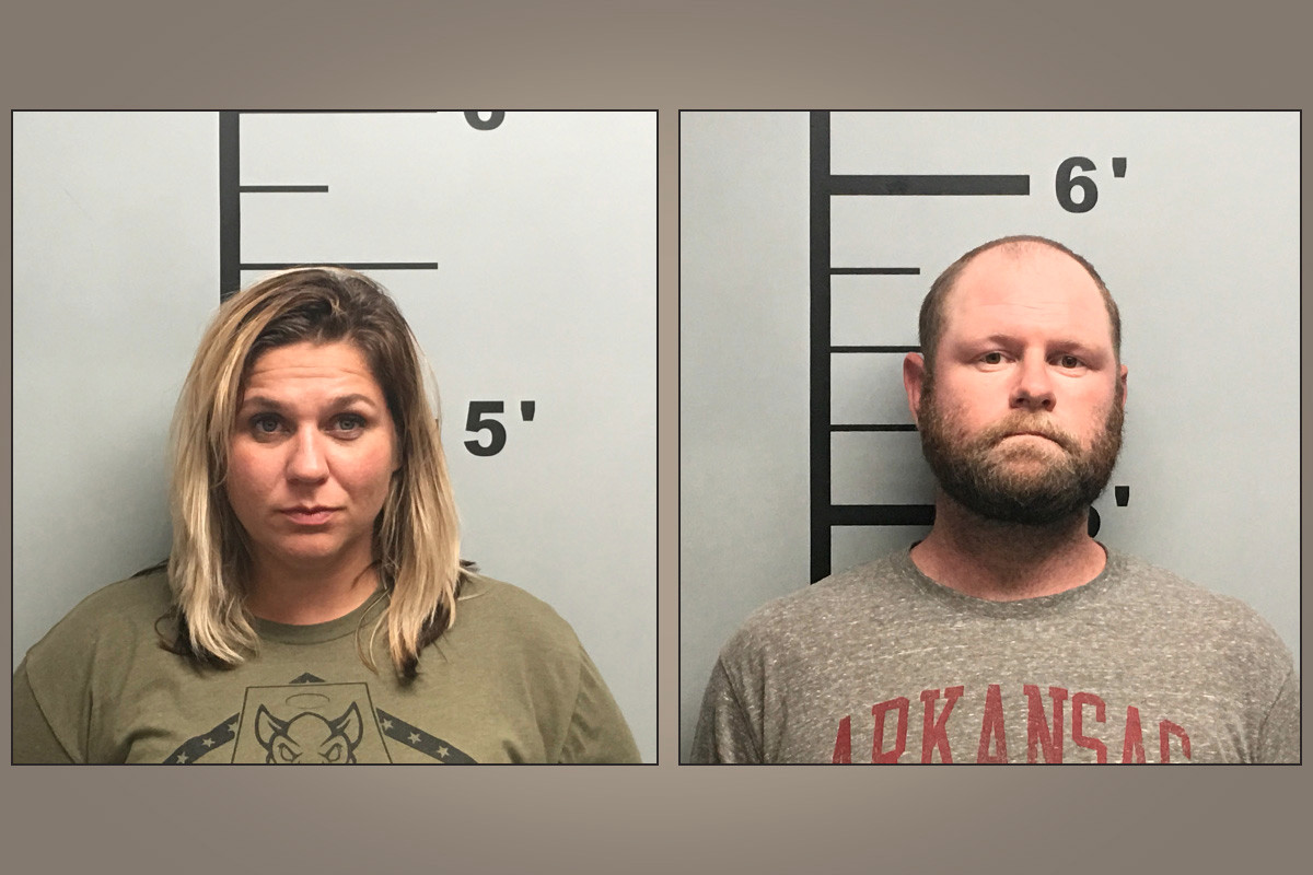 Former Sulphur Springs City Clerk Codi Bates (left) and her husband, Tyler, have been charged with theft of property and forgery. The clerk allegedly stole $184,000.