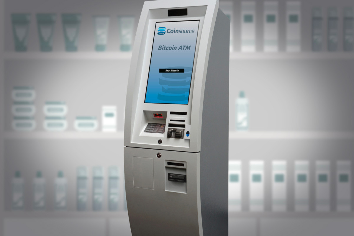 A model of a bitcoin ATM offered by Coinsource of Fort Worth, Texas. The company, led by Little Rock native Sheffield Clark, has a network of nearly 400 machines, including machines in Little Rock, North Little Rock and Fayetteville.
