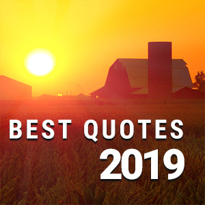 'Flush It Right Away':  Best Quotes of 2019