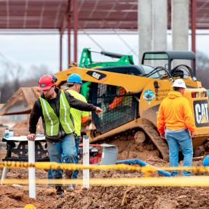 Construction Flurry Advances Saracen Casino