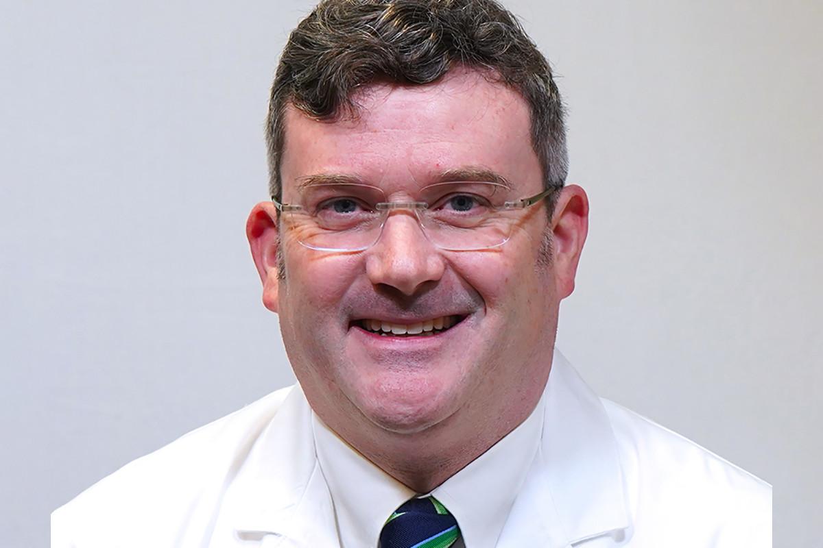 Dr. John C. Frank of Washington Regional in Fayetteville.