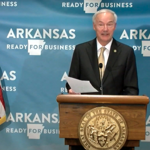 New Daily Record Set as Virus Cases Surge in Arkansas