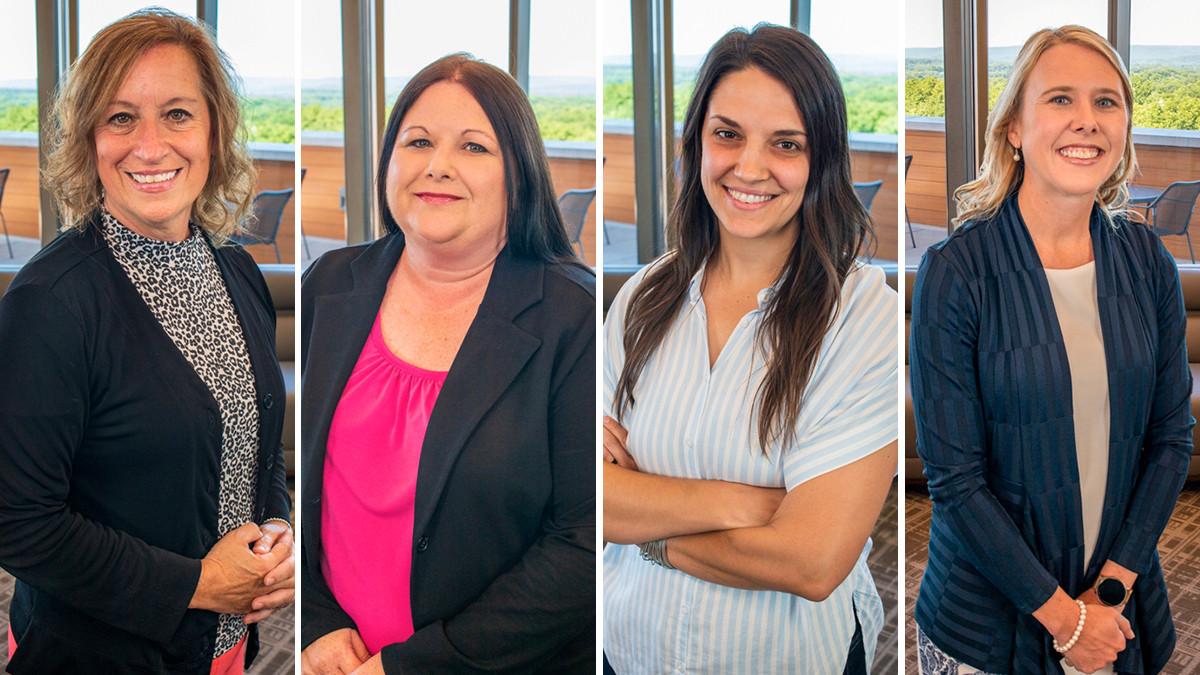 Rhonda McKay, Angie Hooker, Leah Massey and Lisa Davis of Citizens Bank in Batesville.