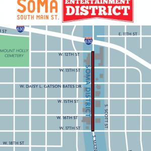 Little Rock Creates SoMa Entertainment District, Expands River Market District