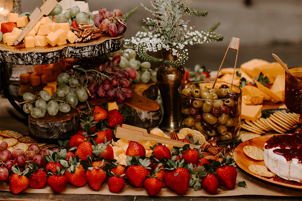 Real Hot Springs Wedding: Anne Claire Trieschmann & Christopher Post 132092 FOOD blog