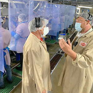 Tyson Upgrades Worker Safety Amid Pandemic