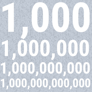 The Problem With Big Numbers (Gwen Moritz Editor's Note)
