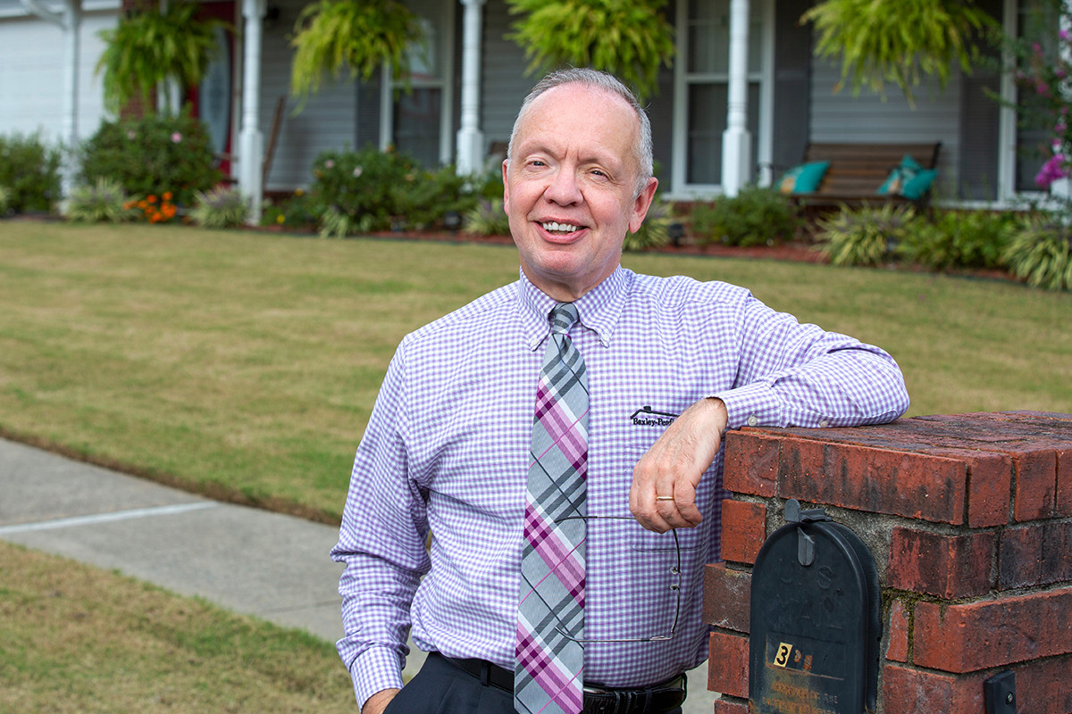 Tom Baxley, co-owner and managing broker of Baxley-Penfield-Moudy Realtors in Bryant.