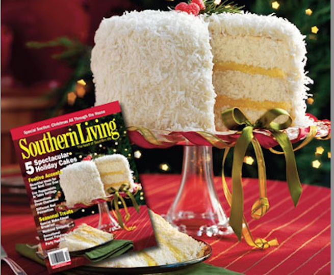 enter southern living 39 s white cake cover contest