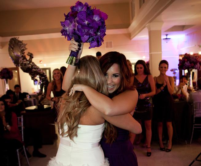 Tiffany Thornton and Chris Carney, Demi Lovato