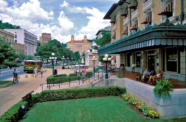 Restaurants Downtown Hot Springs