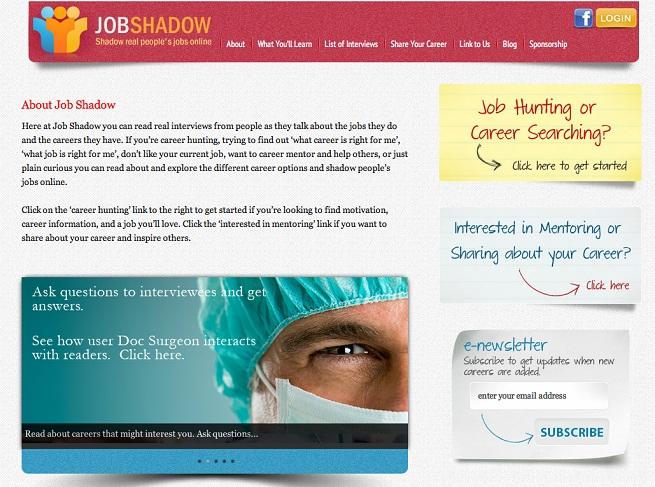 Choosing a Career: Shadow Cool Jobs Virtually With JobShadow.com