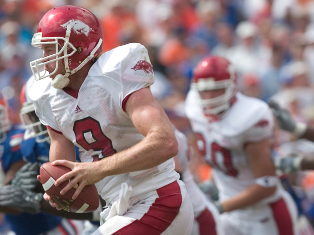 Arkansas quarterback Matt Jones appeared too laid-back to some fans, but his stamina during septuple overtime games was hard to deny.