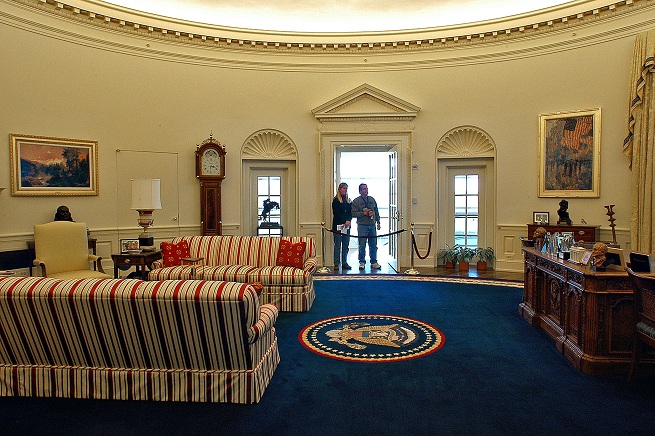 clinton oval office. Clinton Presidential Center, Oval Office