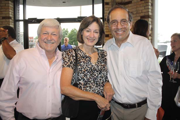 Ken Davenport, Linda and Paul Leopoulos