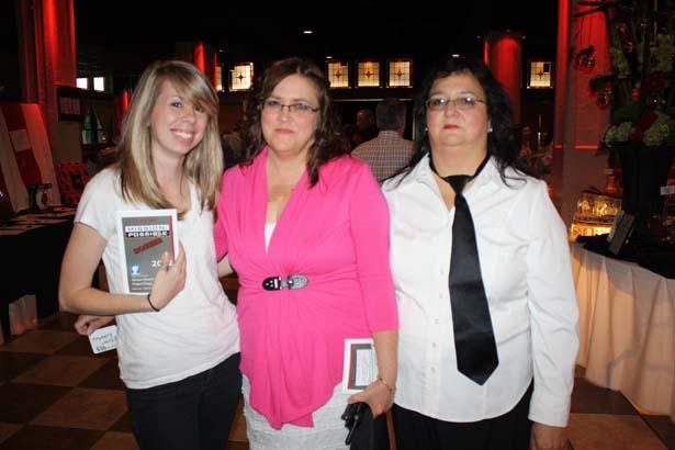 Amelia Howell, Karen Rutherford, Dorene Cason