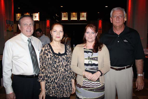 Bill and Jeanne Dohner, Susie Dohner, John Craft
