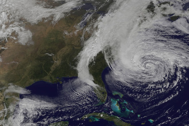 "cause and effects of hurricane sandy Climate change does not cause storms and did not cause superstorm sandy ""so when any given hurricane climate change likely made sandy's effects."
