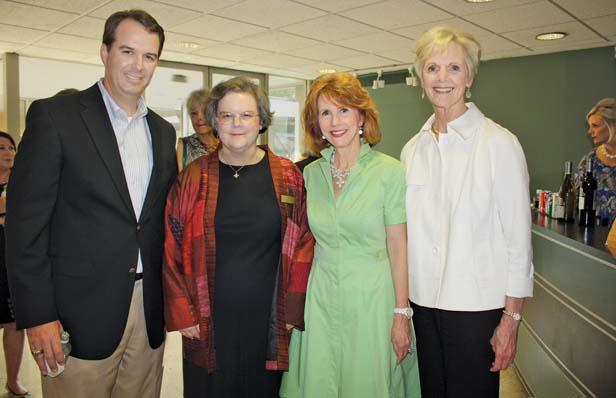 Van Tilbury, Ann Wagner, Terri Erwin, Sandra Connor