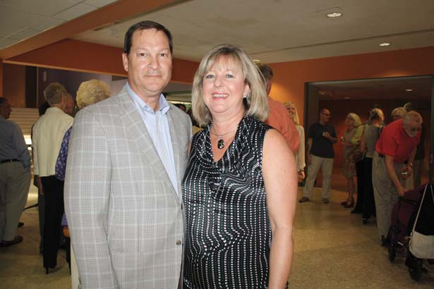 Sam and Lisa Baxter