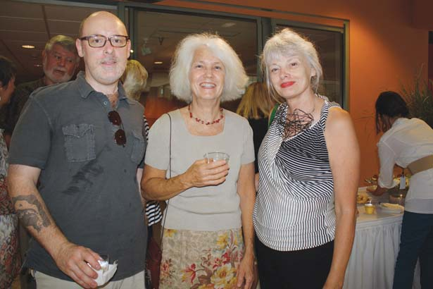 Joseph Brajcki, Louise Halsey, Anncha Briggs