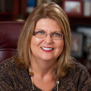 Ann Main of Community First Bank of Harrison (Large Bank Category Finalist)