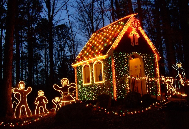 on sale 47408 8acc8 6 Places to See Holiday Lights in Central Arkansas | Little ...