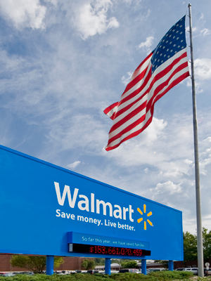 Wal-Mart Takes Texas to Court to Crack Liquor-Sales Market