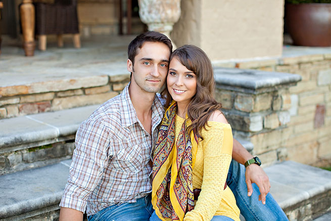 Central Arkansas Engagement: Lauren Compton of Conway & Patrick Hum of Little Rock