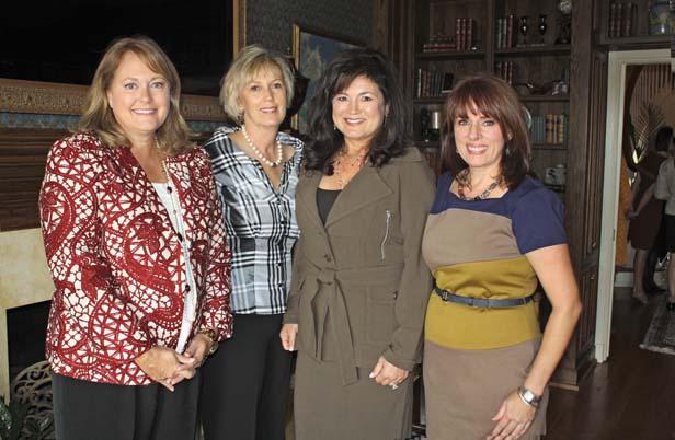 Marcia Watkins, Barbara Taylor, Martha Ellen Erwin, Janet Ledford