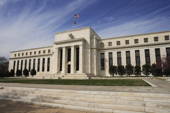The Federal Reserve Bank Building in Washington D.C