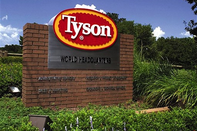 Tyson Foods' 2Q Profit Down 43 Percent