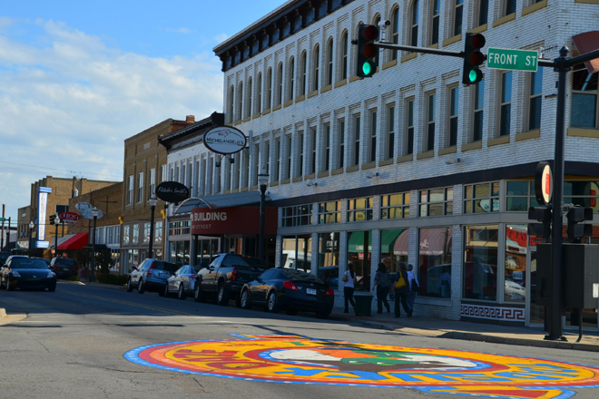 Conway, AR : downtown Conway photo, picture, image (Arkansas) at city ...