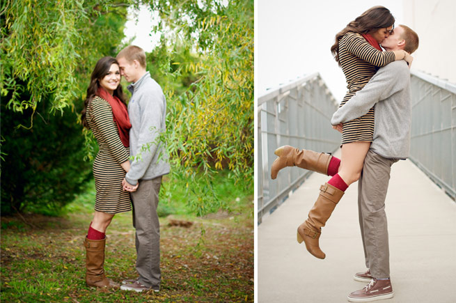 Searcy Engagement: Caroline Mitchell of Keller, Texas & Brandon Golden of Chantilly, Va.