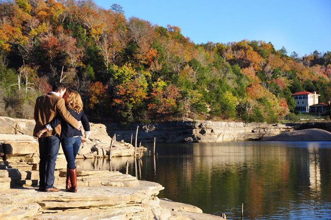 Fayetteville Arkansas Engagement: Katie Johnson of Kerrville, Texas & Steven Schmitz of Gilbert, Ariz.