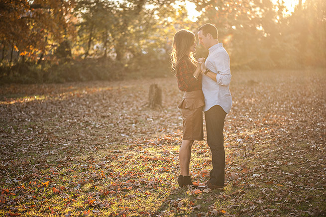 Tess Labeth of Rogers and Cody Bleich of Bentonville are engaged to be wed June 1 at Pratt Place Inn & Barn in Fayetteville. Eugene Grace Weddings sent us these beautiful fall engagement shots.