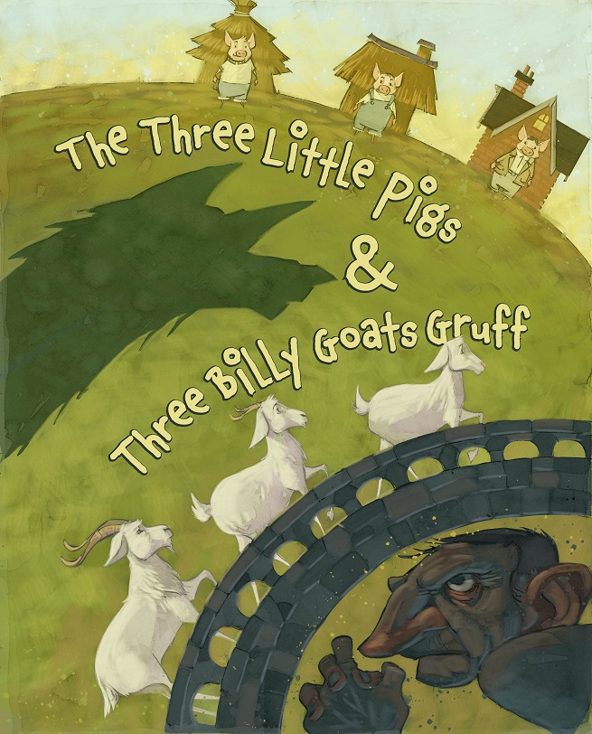 The Three Little Pigs and Three Billy Goats Gruff at Arkansas Arts Center Children's Theatre
